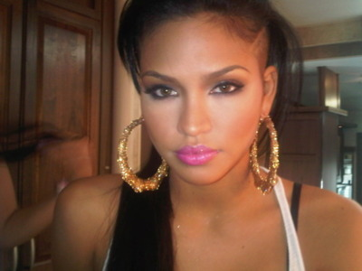 Makeup on Cassie Inspired New Years Eve Makeup Look    Makeup By Kim