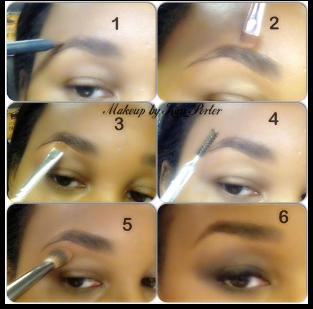 Makeup by Kim Porter Eyebrow Tutorial