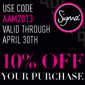 Sigma Makeup April Discount