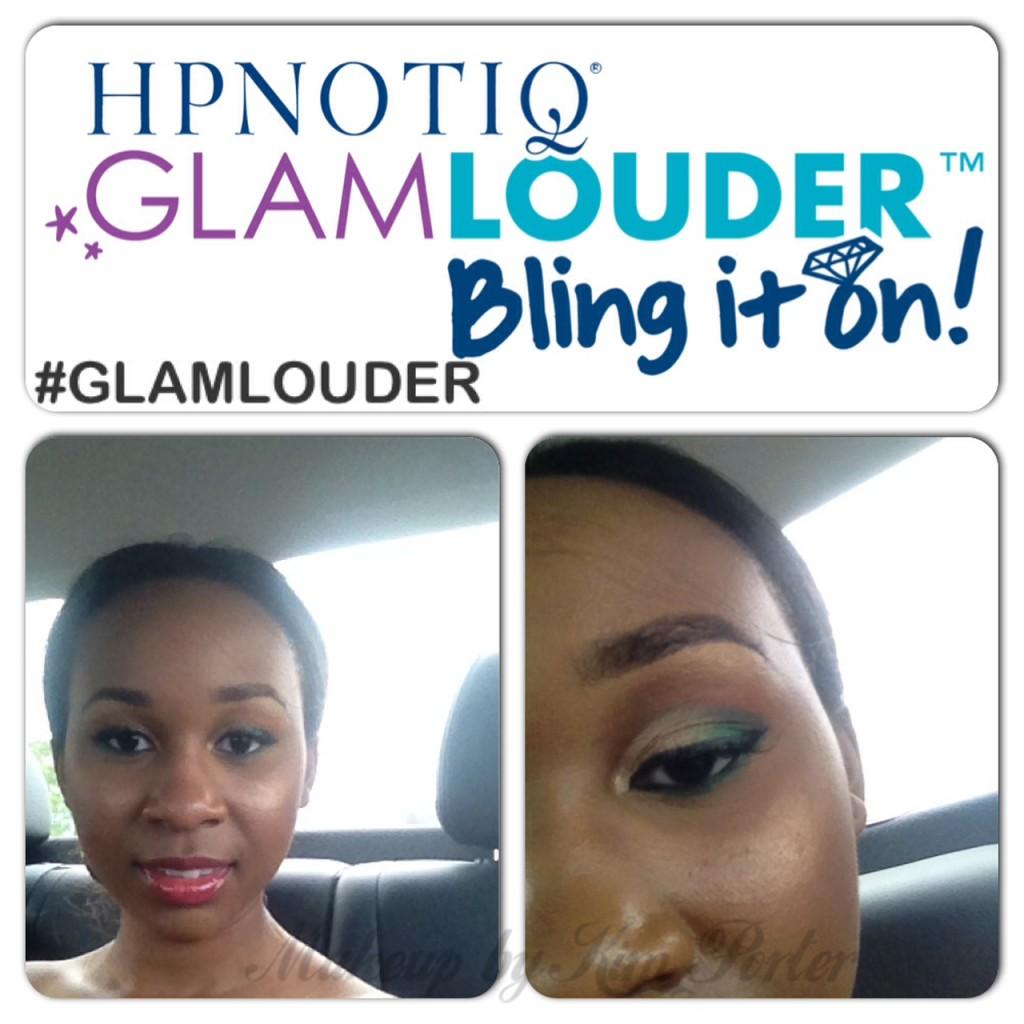 Hpnotiq GlamLouder Bling It On Glam Makeup by Kim Porter