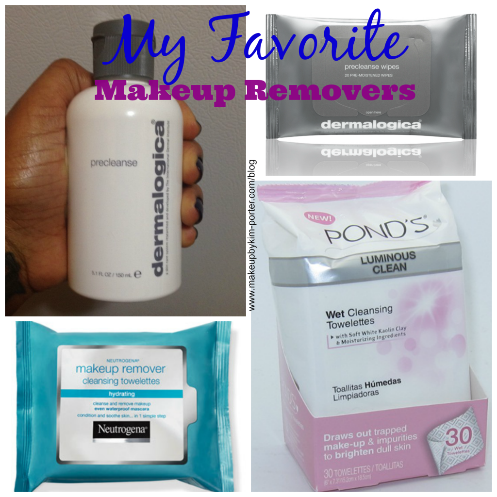 Favorite Makeup Removers