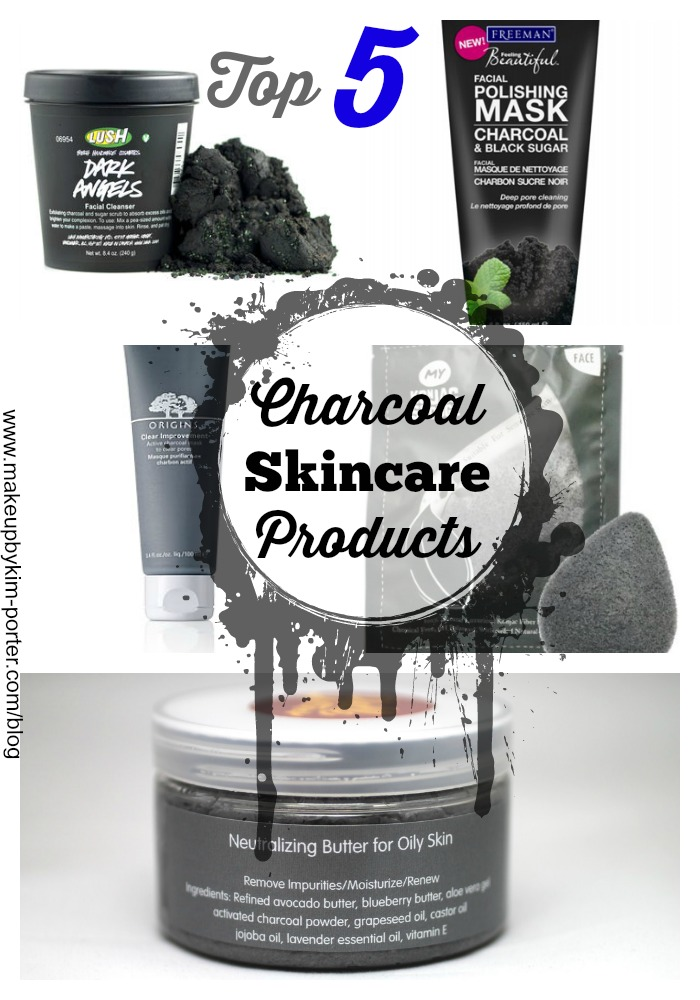Top 5 Capsule Wardrobe Posts: Top 5 Favorite Charcoal Skincare Products You Should Try Now