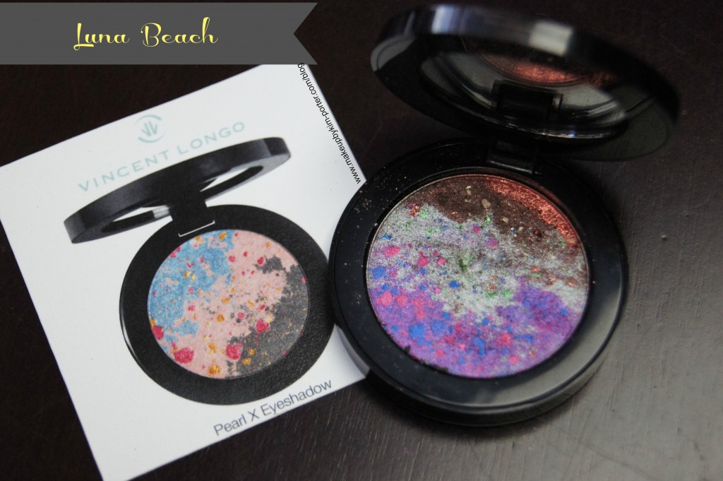 Vincent Longo Pearl X Eyeshadow Luna Beach
