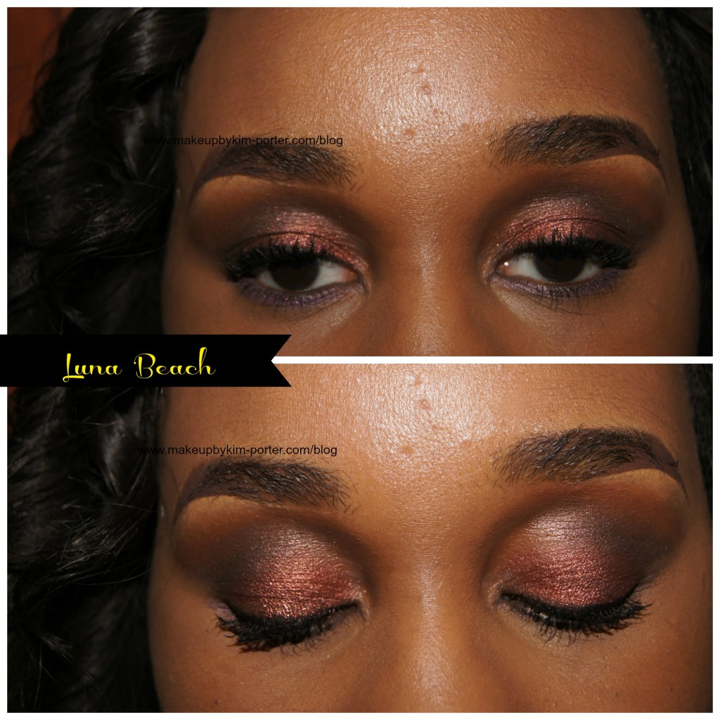 Vincent Longo Pearl X Eyeshadow Luna Beach Eyes
