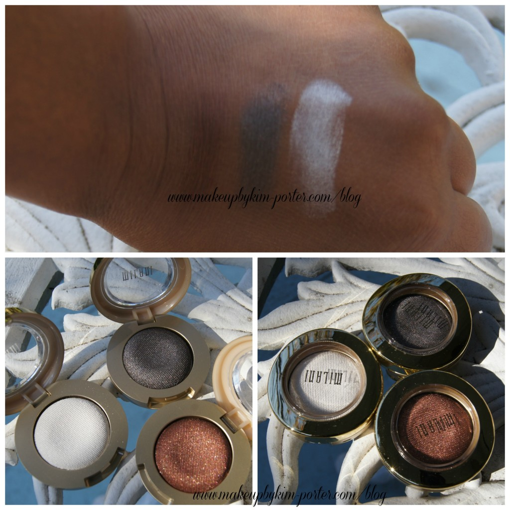 Milani Bella Eyes Gel Powder Eyeshadow Swatches