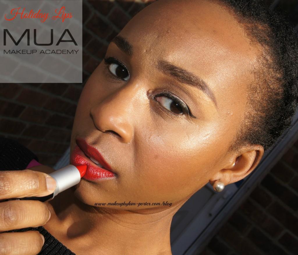 Holiday Lips MUA Makeup Academy