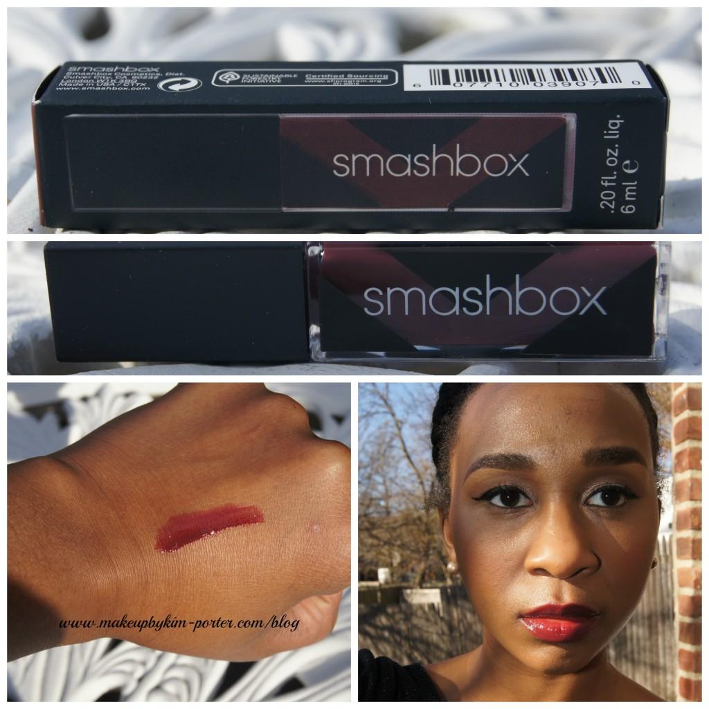 Smashbox Bordeaux Lip Gloss