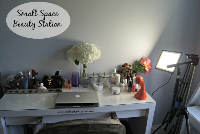 Small Space Beauty Station