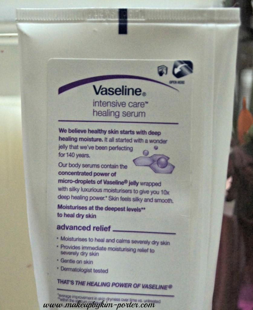 Vaseline Intensive Care Advance Relief Healing Serum