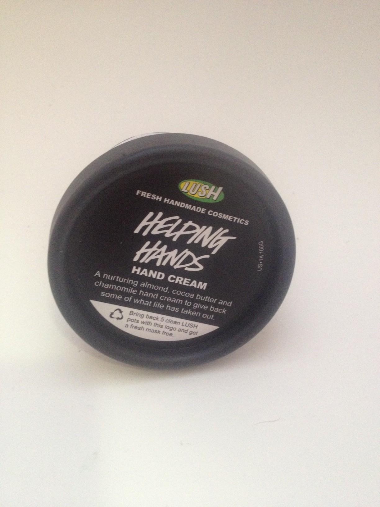 LUSH Cosmetics Helping Hands Cream