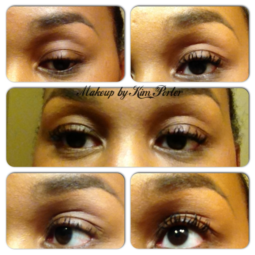 My eyelashes look amazing!  I used one coat then applied a second.  After the send coat, I looked like I had falsies!!!
