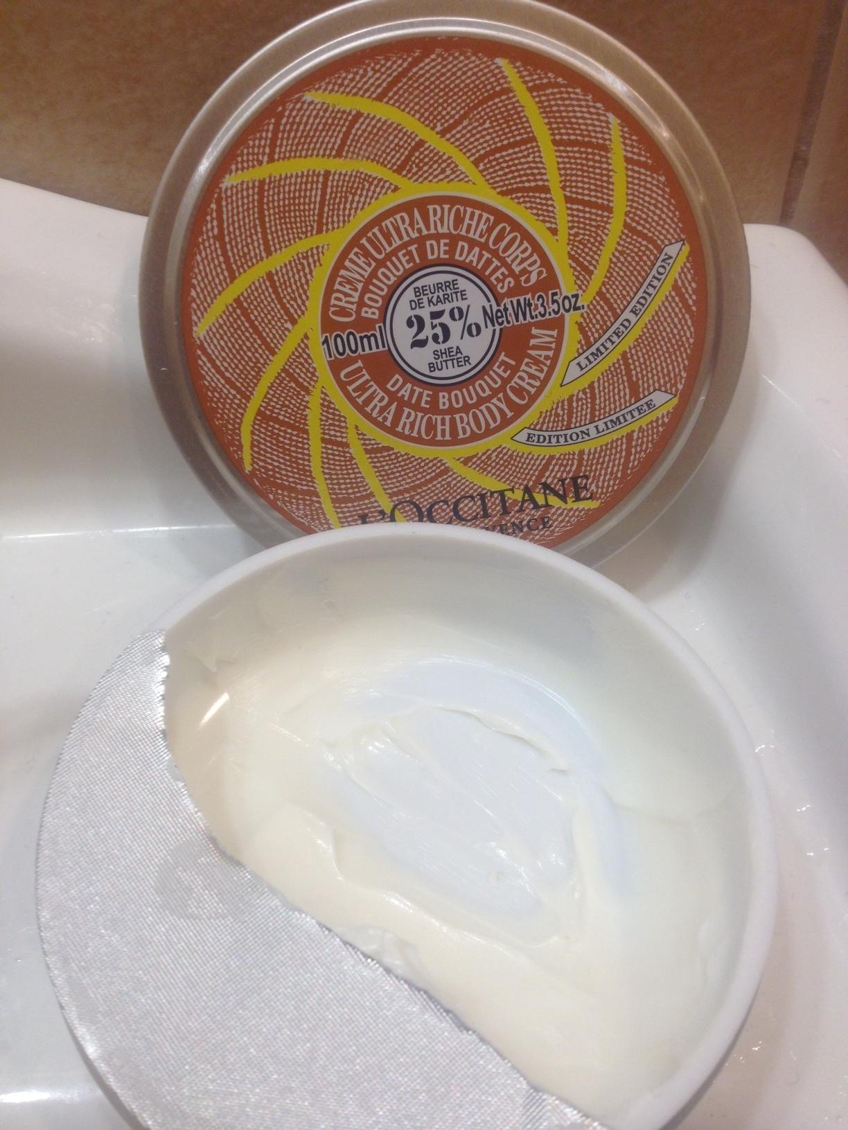 L'Occitane Shea Butter Date Bouquet Ultra Rich Body Cream