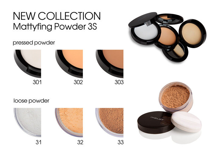 INGLOT COSMETICS NEW powder-3S