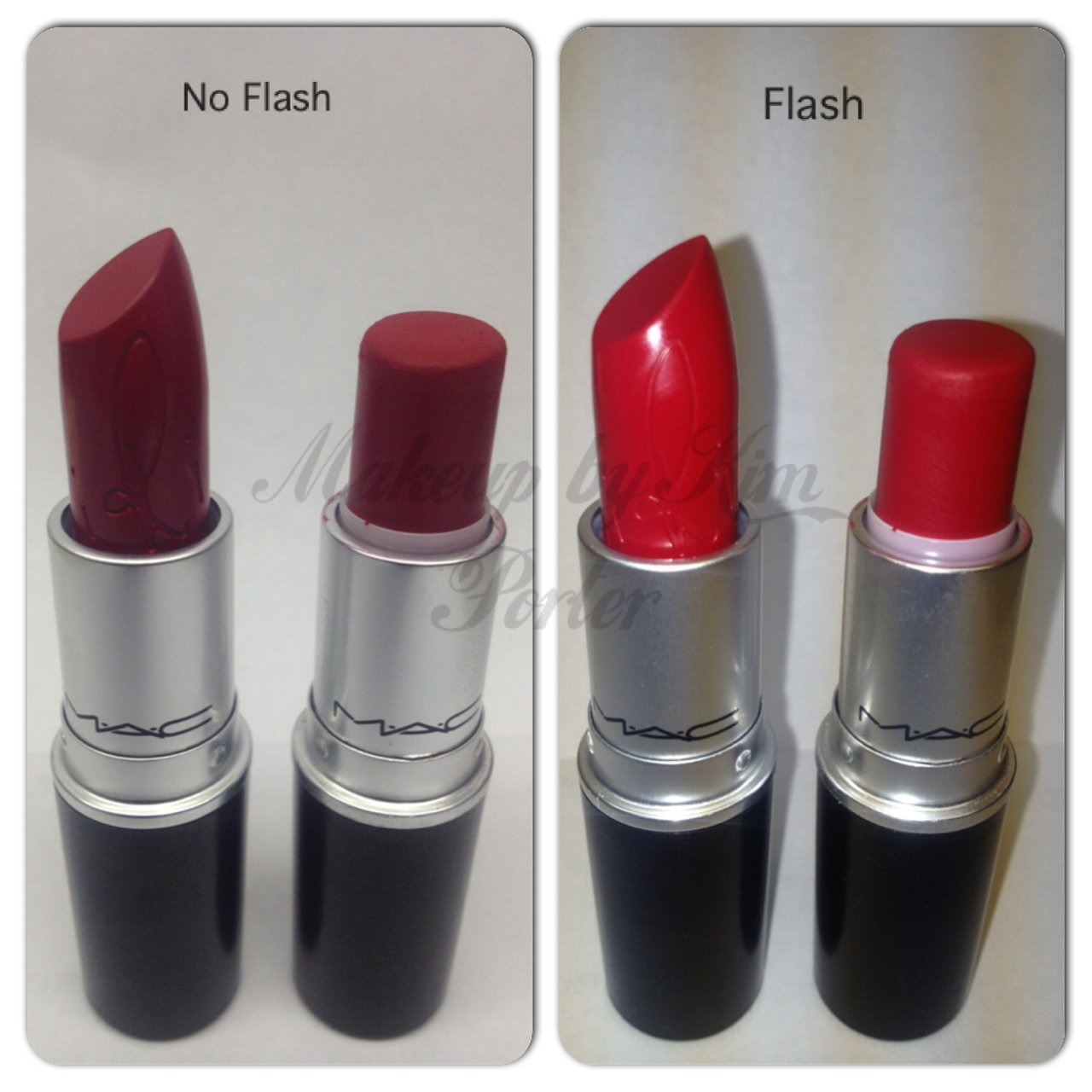 MAC Cosmetics Riri Woo Swatches and thoughts