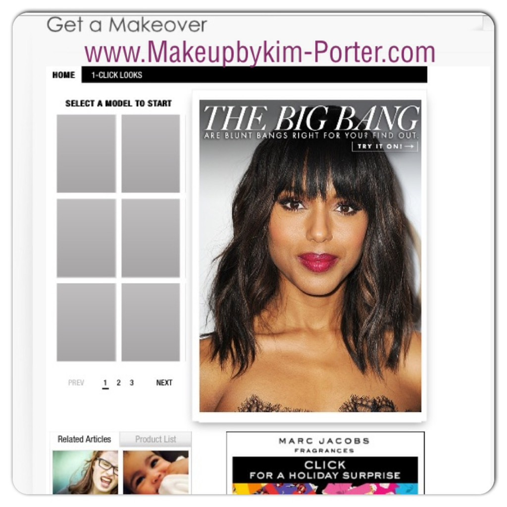 Makeover app Makeup by Kim Porter