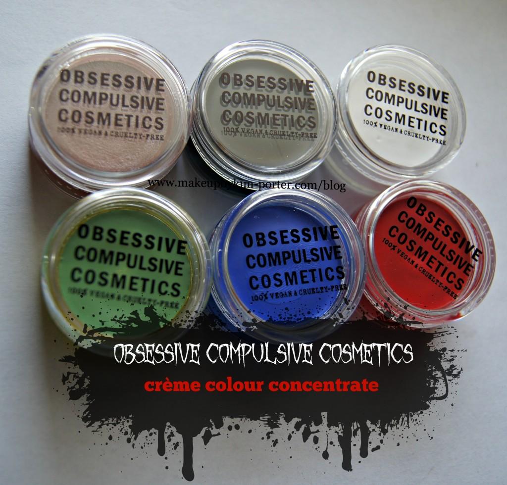 Obsessive Compulsive Cosmetics Creme Colour Concentrate review