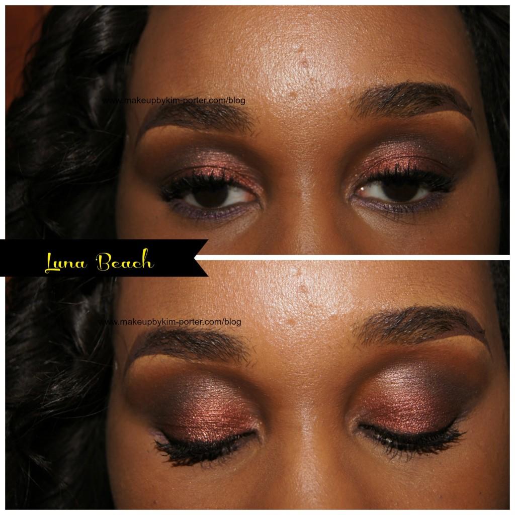 Vincent Longo Pearl X Eyeshadow Luna Beach Eyes
