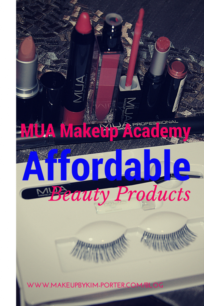 MUA Makeup Academy Beauty products