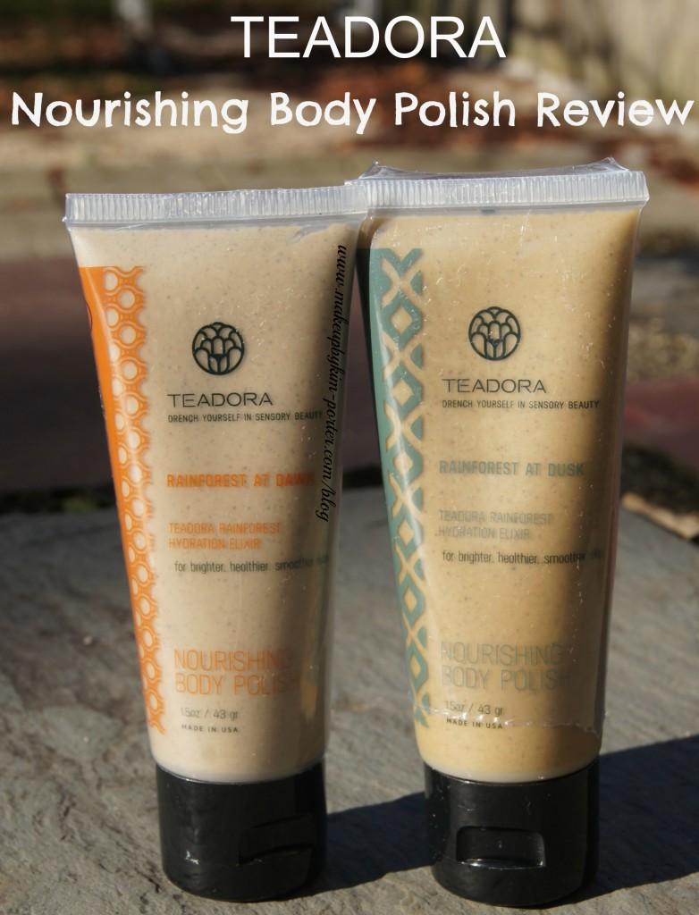 Teadora Nourishing Body Polish