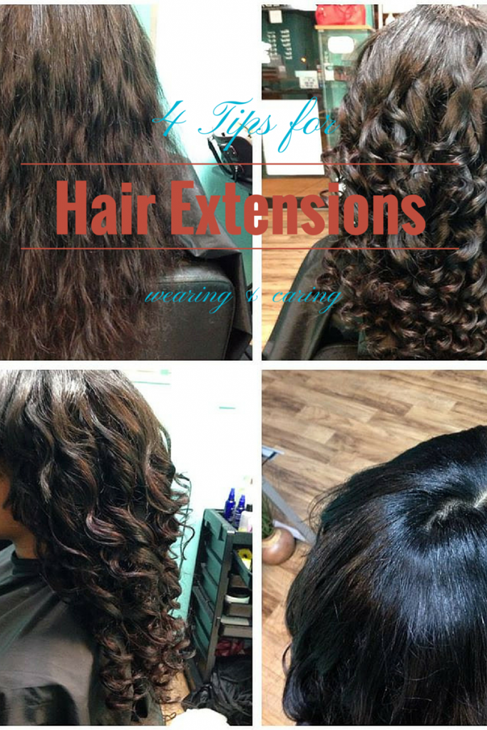 4 tips hair extensions