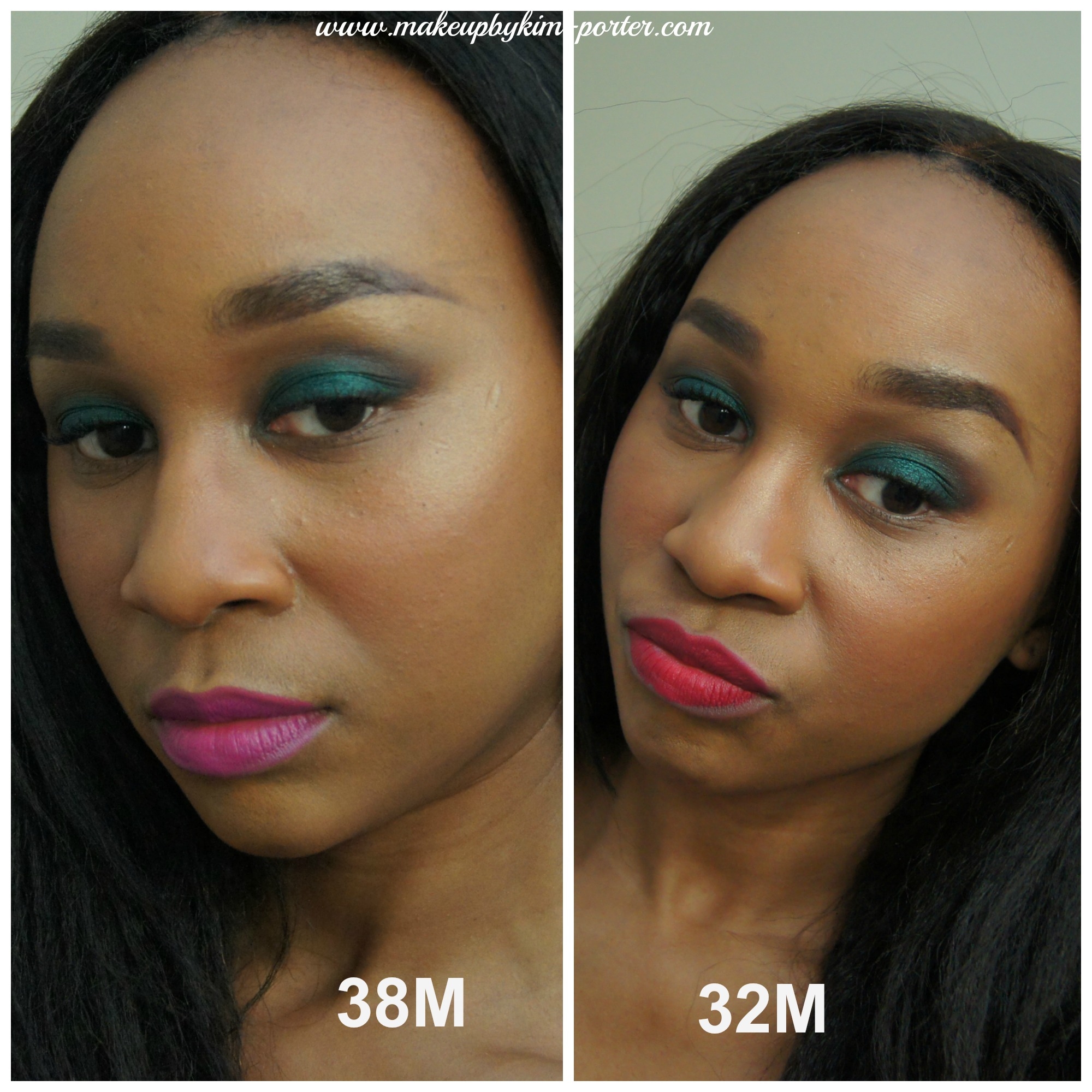 Blackup Cosmetics Matte Lipsticks 38m 32m