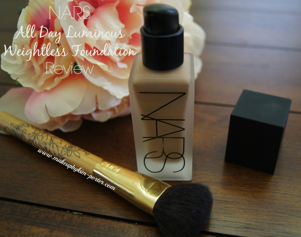 NARS All Day Luminous Weightless Foundation Review Macao