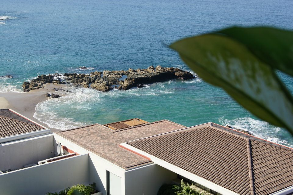 Balcony view of Banderas Bay from Conchas Chinas