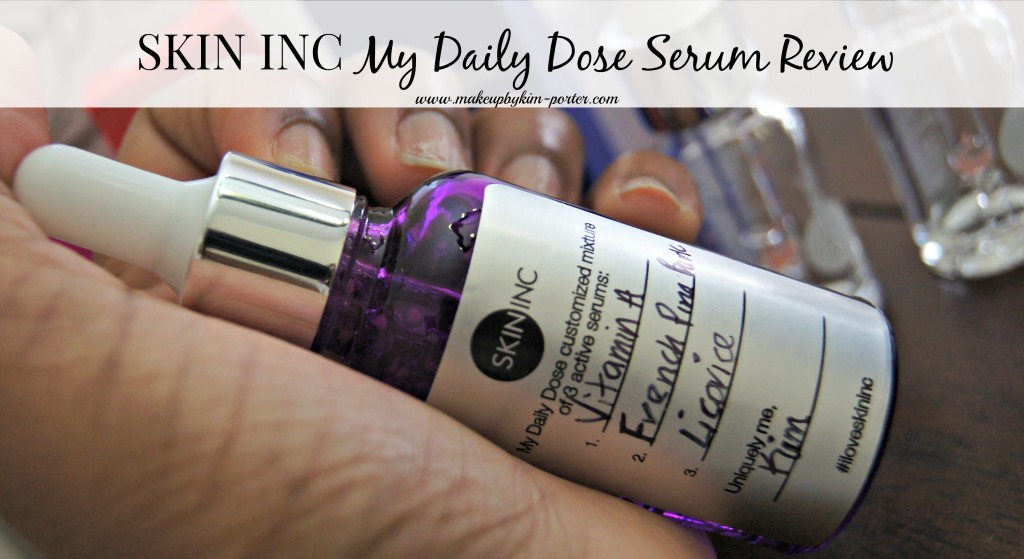 Skin Inc My Daily Dose - Purple Bottle