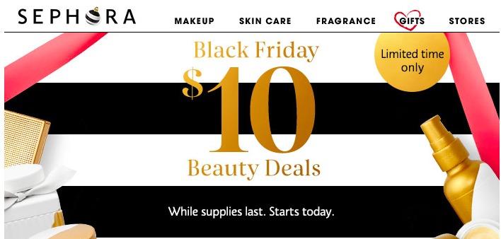 Black Friday Sephora