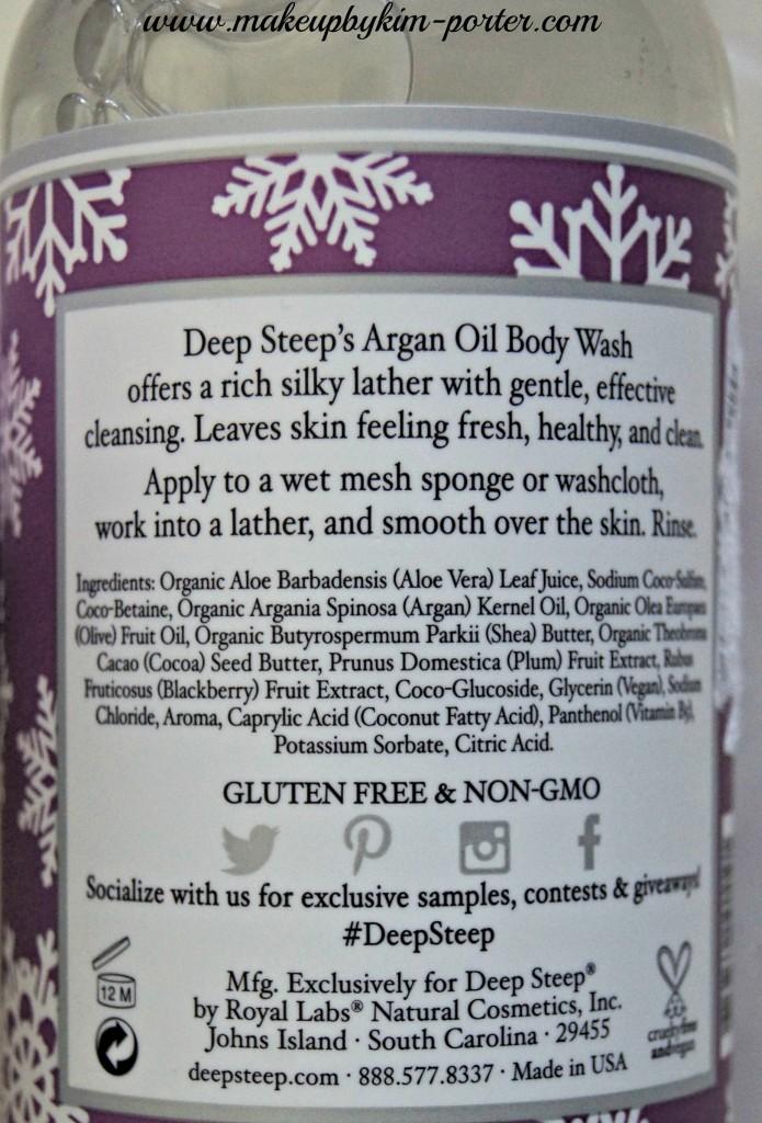 Deep Steep sugar plum body lotion