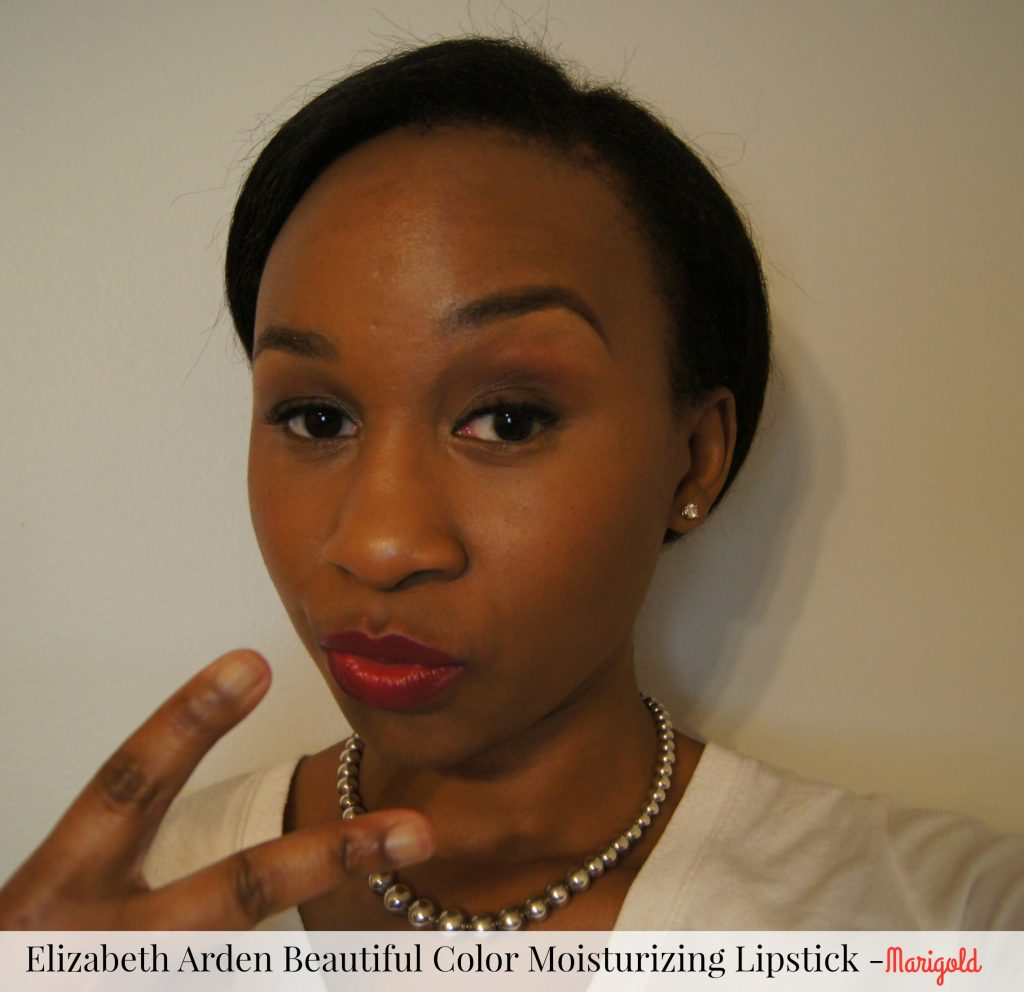 Elizabeth Arden's Beautiful Color Moisturizing Lipstick Marigold